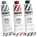 Proraso Mixed Shaving Cream Tube Triple Pack - 3 x 150ml Tubes