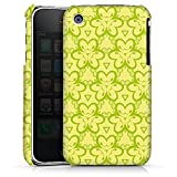 DeinDesign Coque Compatible avec Apple iPhone 3Gs Étui Housse Motif Floral Triangles...