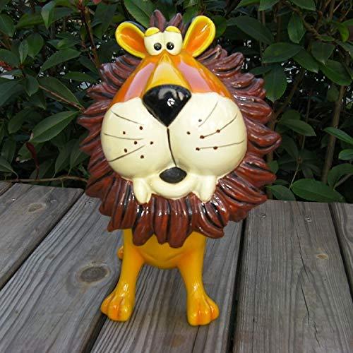 YXXHM- Animales Hucha Nette sacudido Cabeza león