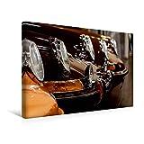 Calvendo Premium Textil-Leinwand 45 cm x 30 cm Quer, Porsche 911 | Wandbild, Bild auf Keilrahmen, Fertigbild auf Echter Leinwand, Leinwanddruck Mobilitaet Mobilitaet