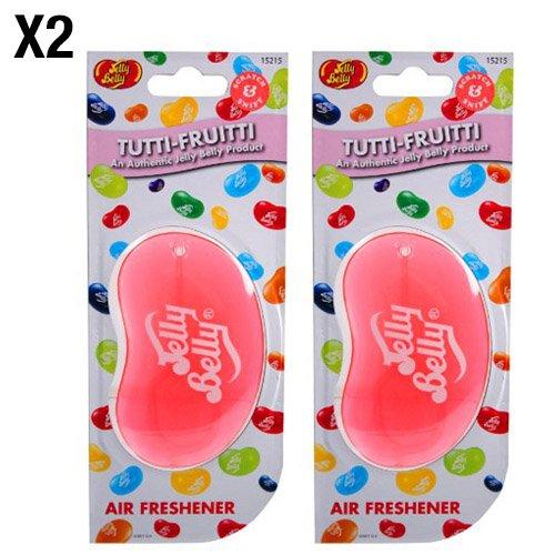 jelly-belly-tutti-frutti-geschmack-3d-zum-aufhangen-auto-buro-lufterfrischer-2-pack-twin-pack