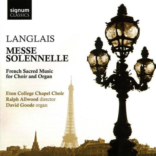 Preisvergleich Produktbild Langlais: Messe Solennelle - Französische geistliche Musik für Chor und Orgel