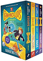 Mr. Lemoncello's Library Books 1-4 (Boxed