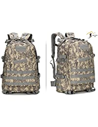 36–55L Upgrade bosque cruce campo Molle 3d Ataque Pack Militar mochila senderismo Camping Escalada ciclismo recreación Tactical Mochila Bolsa, ACU Digital
