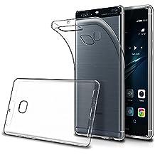 """Cover Huawei P9 Plus 5.5"""" (Confezione da 2),Simpeak Custodia Chiaro Cristallo Liquid Crystal Estremamente Sottile & Puro Trasparente - Custodia Huawei P9 Plus, Cover P9 Plus, Custodia P9 Plus"""