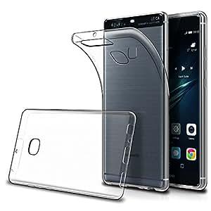 Cover Huawei P9 Plus (Confezione da 2),Simpeak Custodia Chiaro Cristallo Liquid Crystal Estremamente Sottile & Puro Trasparente - Custodia Huawei P9 Plus, Cover P9 Plus, Custodia P9 Plus