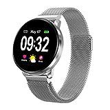 Smartwatch Damen Herren Fitness Armbanduhr mit Full-Touchscreen GOKOO Wasserdicht IP67 Fitness Tracker Aktivitätstracker Pulsuhren blutdruck uhr mit Kalorienzähler Schlafmonitor für...