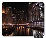 Chicago Downtown Mouse Pad, Mousepad (Modern Mouse Pad)