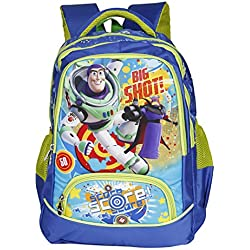 Disney School Bag For Boys 07+ Years Big Shot 21 (L)blue (Dm-0005)