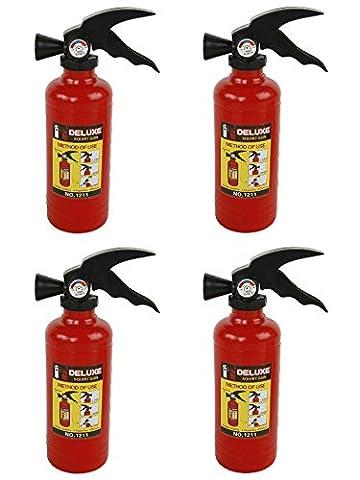 4 x Fun Fire Extinguisher as A water pistol Water Shooter Children's Toy Gun
