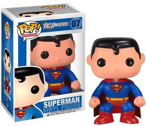 POP Heroes Superman Vinyl Figure