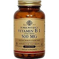 Solgar Vitamin B1 (Thiamin) 500 mg Tablets, 100 Tabs 500 mg