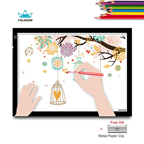 Huion A3 Leuchtkasten Abpausen Leucht Pad Pad Zeichenleuchtbrett für Künstler Animationskunst...