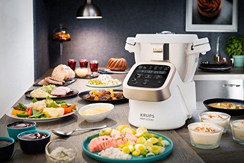 Küchenmaschine mit Kochfunktion - Krups Prep & Cook HP5031 Multifunktions-Küchenmaschine