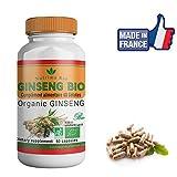 Nutrima Bio - Raíces de Ginseng Bio 60 cápsulas de Nutrima Bio- 300 MG - Forma-energía-vitalidad