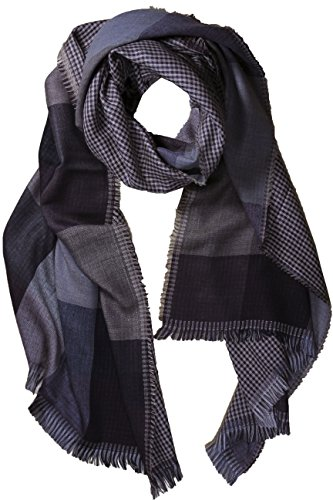 fereti-echarpe-de-soie-pour-homme-marron-noir-tres-douce-e-chaude-tissu-double-4-en-1