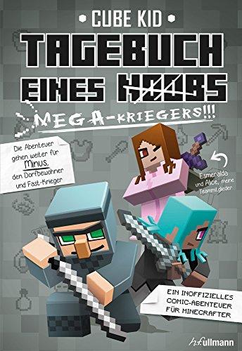 Buchseite und Rezensionen zu 'Tagebuch eines Mega-Kriegers (Bd. 3)' von Cube Kid