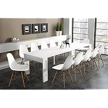 Tavolo consolle allungabile for Table a manger modulable