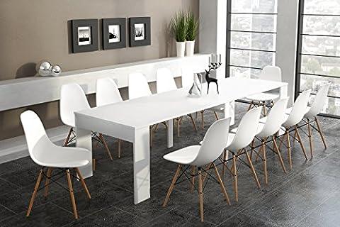 Home innovation - Table de Salle à Manger extensible jusqu'à
