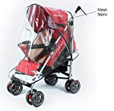 Universal Pushchair Stroller Buggy Rain Cover fits hundreds of models Bild