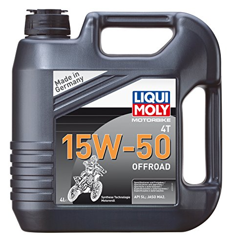 liqui moly 3058 4t 15w 50 offroad huile pour moto cross moteur 4 temps pas cher meca. Black Bedroom Furniture Sets. Home Design Ideas