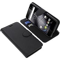 Tasche für Gigaset GS160 / GS170 Book Style schwarz Schutz Hülle Buch