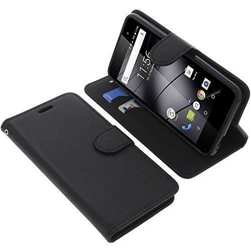 foto-kontor Tasche für Gigaset GS160 / GS170 GS170 Book Style schwarz Schutz Hülle Buch