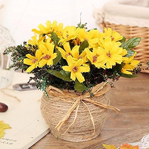 Emulación Continental floreros con paquete de BELLEZA Ju decoraciones hogareñas ,15*15cm,1,15*15cm regalos de boda