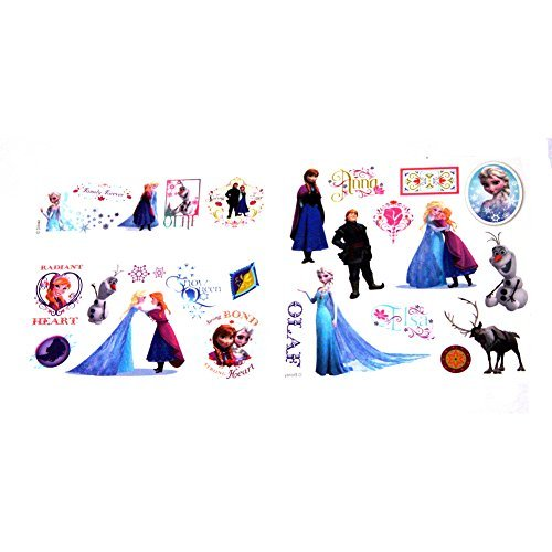 Disney Frozen (Eiskönigin) - Haut Tattoo - insgesamt 25 Motive auf 3 ()