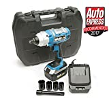 "Wolf 380NM Torque 18v Cordless 1/2"" Impact Wrench Kit with Li-Ion Battery, 4 Impact Sockets & Extension Bar - 2 Years Warranty"