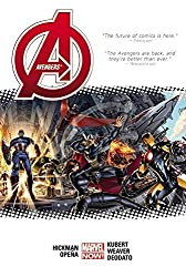 Avengers by Jonathan Hickman Volume 1 (New Avengers) by Jonathan Hickman (14-Apr-2015) Hardcover