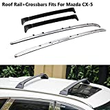 Kulcar Passend für Mazda CX-5 2017 2018 Crossbars Roof Rack Kit Dachgepäckträger