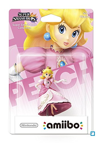 amiibo Smash Peach Figur