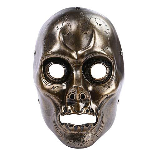 Máscara YN Halloween Tema de película Película de Harry Potter mortífago