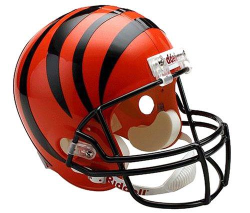 Riddell NFL Arizona Cardinals Deluxe Replica Fußballhelm, Unisex-Erwachsene, Cincinnati Bengals, Full Size