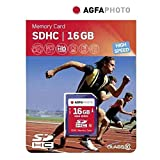 AgfaPhoto Class 10 High Speed 16GB SDHC-Speicherkarte