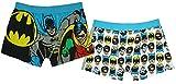 Batman Mens Boxer Trunks Dos Pack -L