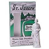 Design Toscano St. Joseph Home Sale Statue Kit, 9 cm, Plastic, Antique Stone