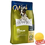 HAPPY DOG Supreme Sensible Mini Neuseeland HDSMN +BALL Grtis Hundefutter Futter Glutenfreie (1 kg)