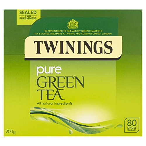 Twinings Pure Green Tea 80 Bags (packs of 4, total 320 Tea Bags)