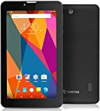 Yuntab 7 inch Android 5.1 3G unlocked smartphone tablet pcMTK8321 1.3 GHz Quad Core IPS 1024*600 Capacitive touch screen google tablet 1GB+8GB MID Phablet Pad 2800MHA battery with WIFI, GPS and bluetooth dual camera (BLACK)