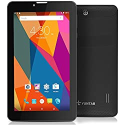 Yuntab E706 3G tablet sbloccato IPS 7 pollici Android 5.1 MTK8321 1.3GHz Quad Core capacitive 1GB + 8GB WIFI, Bluetooth e GPS doppia fotocamera (Plastic black)