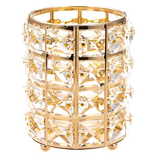 ManChDa Crystal Votive Kerzenhalter Kerzenständer für Hochzeit Mittelstücke Home Dekorationen Jubiläum Make Up Halter Crystal Votive