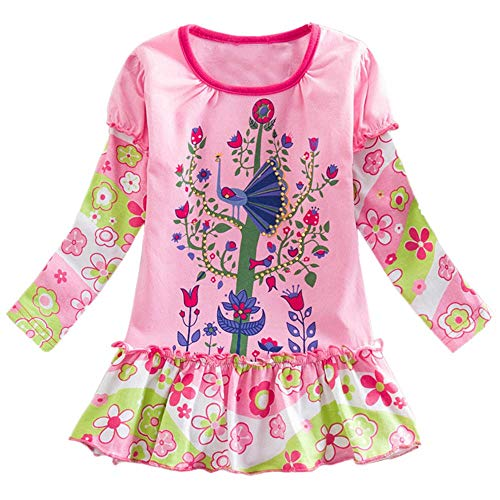 Junge Mädchen Baby Outfits Kleidung InfantStar Gedruckte Baumwolle Lange Ärmel T-Shirt