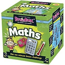 Green Board Games BrainBox Maths - Juego educativo de matemáticas y de memoria (importado de Reino Unido)