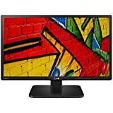 LG 24MB56HQ-B 60,45 cm (23,8 Zoll) LED Monitor (HDMI, VGA, 5ms Reaktionszeit, höhenverstellbar)