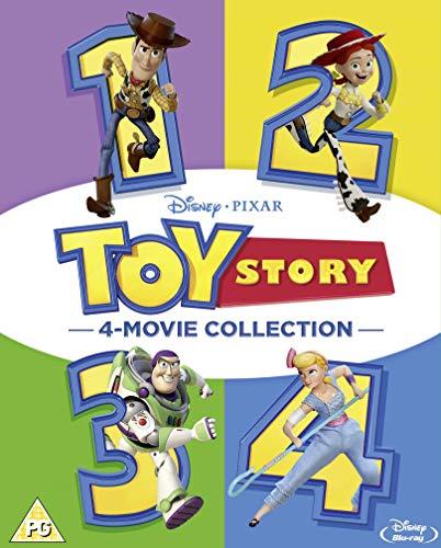 Toy Story 1-4 Boxset