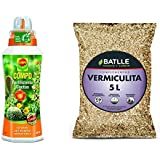 Compo Cactus, Plantas crasas y suculentas, Fertilizante líquido con Extra de potasio, 500 ml, 23x7x6.3 cm, 2140902011 + Semil