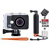 NEUE ActionPro X8 Taucher EDITION - Diving Kit 4K Auflösung 32GB - Actioncamera