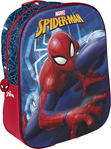 Star licensing disney spiderman zainetto per bambini, 31 cm, multicolore